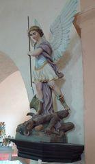 Hl. Georg - Georg, Heiligendarstellung, Mittelalter, Drachentöter, Drachen
