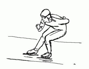 Eisschnelllauf - Wintersport, Wintersportart, Winter, Schnee, Eisschnellauf, laufen, schnell, olympisch, Sport, Winter, Eis, kalt