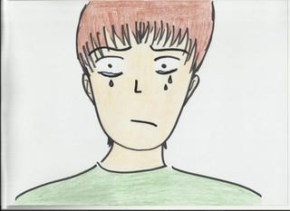 Bild für das Gefühl Traurig - Gefühl, Gefühlsausdruck, Gesichtsausdruck, Emotion, Empfindung, Stimmung, Gespür, empfinden, Gemütsbewegung, traurig, unglücklich, weinen, sad, Bild