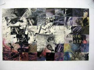Quadrat-Collage - Kunst, Collage, Klasse 10