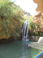 Wasserfall - Oase, Wasserfall, Israel