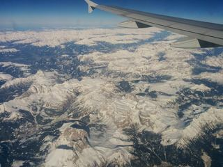 Schneebedeckte Alpen - Berg, Winter, Schnee, Alpen, Flug, Gipfel