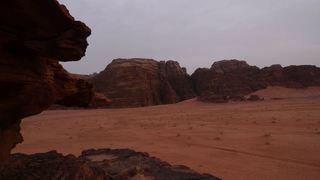 Wadi Musa - Wüste, Sand, Gebirge, Gebirgsformation, Wadi
