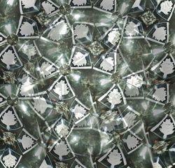 Kaleidoskop #5 - Kaleidoskop, Muster, Formen, Optik, optisch, bunt, Symmetrie, symmetrisch, Glas, Spiegel