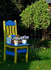 Willkommen - Stuhl, einladen, Einladung, Impuls, Gestaltung, gestalten, Willkommen, willkommen