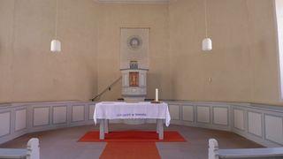 Altarraum - Altar, Altarraum, lux lucet, Waldenser, Protestantismus, Hugenotten