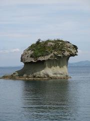 Vulkanischer Tuffsteinfelsen - Tuff, Tuffstein, Eruptivgestein, Vulkanismus, Erosion, Verwitterung