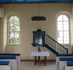 Waldenserkirche Gewissenruh #3 - Waldenser, Hugenotten, Protestantismus, Kirche, Glaubensflüchtlinge, Kirchenbau