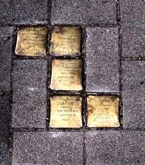 Stolpersteine - Stolpersteine, Pflaster, Kunst, Gedenktafel, Nationalsozialismus, Tod, Vertreibung, Ermordung, Erinnerung, Verfolgung, Gedenken, erinnern