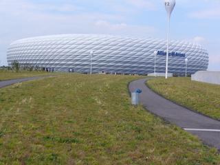 Allianz - Arena - München, Allianz Arena, Fußballstadion, FC Bayern München, München 1860, Bundesliga, Stadion, Fußball, Sport