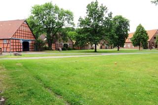 Rundlingsdorf im Hannoverschen Wendland #2 - Siedlungsform, Dorf, Wenden, Rundling, Rundlingsdorf, Wendland, Fachwerkhaus, Hallenhaus