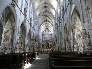Münster Salem #1 - Münster, Salem, Reichsabtei, Pfarrkrche, katholisch, Gotik