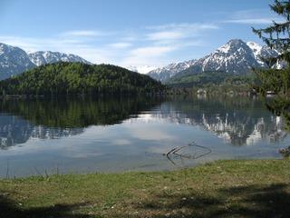 Altausseer See - Dachstein, Alpen, Österreich, Steiermark, Salzkammergut, Berge, Altausser See, Spiegelung, Gletscher