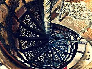 Wendeltreppe - Aufgang, Abgang, Treppe, Struktur, Detail, Stein, Spindeltreppe, Wendeltreppe, Stufen, Draufsicht, Spirale