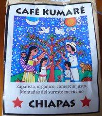 Café Kumaré - café, kumaré, zapatistas, comercio, justo, chiapas, Mexico