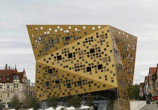 Forum *Gold und Silber*#2 - Bauwerk, Forum, Schwäbisch Gmünd, Architektur