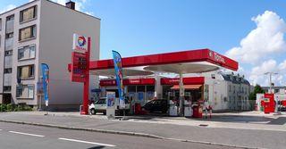 Station service - Frankreich, civilisation, station service, Tankstelle, gazole, Diesel, tanken, prix, Preis, faire le plein