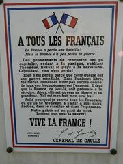 À tous les Francais - Frankreich, De Gaulle, général, London, Londres, Aufruf, appel, 1940