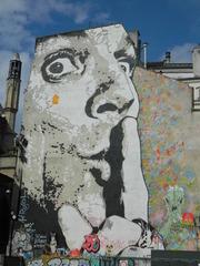 Jef Aérosol - Jef Aérosol, Streetart, art urbain, Paris, Graffiti, Fassade