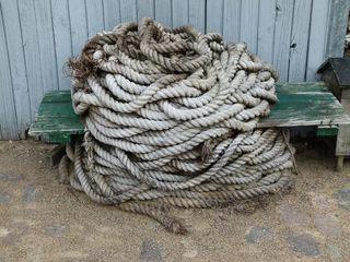 Tau , Seil - Tau, Seil, Tauwerk, Seilerware, Segelkunde, Segelknoten