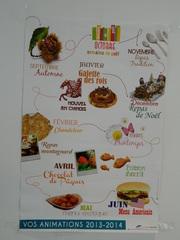 Animations cantine - Frankreich, cantine, mois, animations, spécialités, manger, repas