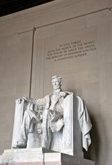 Lincoln Memorial #1 - Abraham Lincoln, Präsident, USA, Amerika, Statue, Washington, Monument