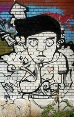 Graffiti_002 - Graffiti, Schweiz, Zürich, Fabrik, rote, Kunst, Kommunikation, Schriftgestaltung, Umweltgestaltung