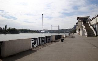 Uferpromenade_Rostow am Don (Russland) - Russland, Don, Roatow am Don, Stiller Don, Fluss, Erholung