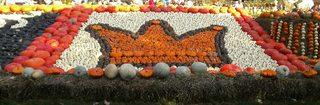 Kürbisdekoration #4 - Kürbis, Kürbisdekoration, Herbst, Krone