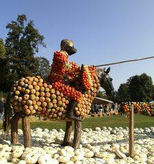 Kürbisdekoration #7 - Kürbis, Kürbisdekoration, Herbst, königliche Spiele