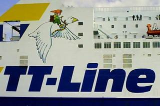 Fährschiff Nils Holgersson #3 - Schiff, Schifffahrt, Tourismus, Fähre, Kombicarrier, Transport, PKW, LKW, Transport, Überfahrt