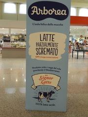 latte - Italien, latte, Milch, Werbung, Kuh