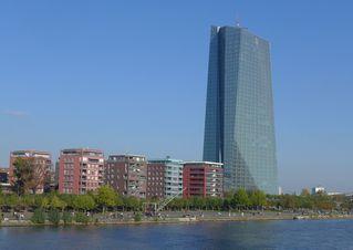 Europäische Zentralbank #3 - EZB, Europäische Zentralbank, Frankfurt/Main, Gebäude, Turm, Hochhaus, Architektur, Kran