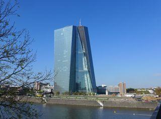 Europäische Zentralbank #1 - EZB, Europäische Zentralbank, Frankfurt/Main, Gebäude, Turm, Hochhaus, Architektur