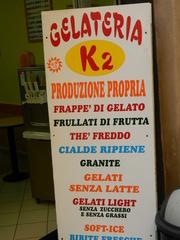 Gelateria - Italien, gelateria, gelato, Eis, Eiscafé, Schild
