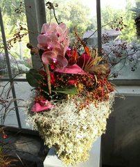 Herbstgesteck #3 - Herbstgesteck, Floristik, Dekoration, floritisches Schmuckteil, Blumengesteck, Florist