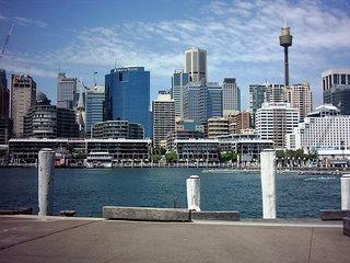 Sydney Skyline-1 - Australien, Sydney, Gebäude, Skyline, Wolkenkratzer, Hochhaus, Großstadt