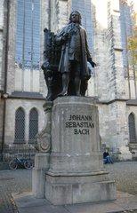 Johann Sebastian Bach - Johann Sebastian Bach, Denkmal, Musiker, Leipzig, Komponist, Musik, Statue, Skulptur, Bronzestatue