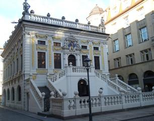Alte Handelsbörse Leipzig - Alte Handelsbörse, Versammlungsgebäude, Barockbauwerk, Kulturdenkmal, Wertpapierbörse