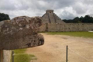 Chichén Itzá - Pyramide, Mexiko, Yucatan, Maya, Chichén Itzá, Ruinenstätte, Kukulcán-Pyramide, Weltkulturerbe, Sakralbau