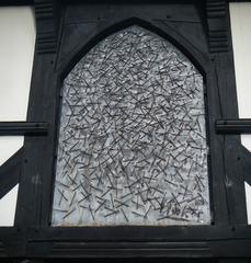 Goslarer Schutzschild - Kunst, Nagel, Relief, Nagelrelief