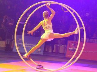 Rhönradartistik #1 - Rhönrad, Artistik, Gymnastik, turnen, Bewegung
