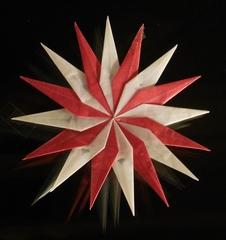 Stern aus Transparentpapier - Weihnachten, Stern, Symbol, Licht, Advent, basteln