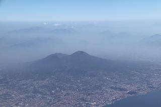 Vesuv - Vulkan, Vulkanismus, Vesuv, Vesuvio, aktiv, Neapel, Italien, Luftbild