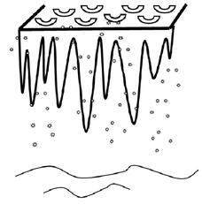 Eiszapfen - Eiszapfen, kalt, Winter, Eis, Illustration, Zeichnung, Dach, hängen, Zapfen, Schnee, gefroren, Aggregatzustand, Wasser, Anlaut E