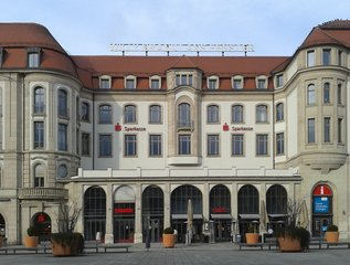 Erfurt, ehemaliger Erfurter Hof - Erfurt, Willy Brandt, Willy Stoph, Wandel durch Annäherung, Entspannungspolitik