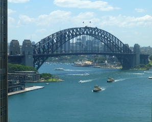 Harbour Bridge #1 - Sydney, NSW, Harbour Bridge, Australien, Down Under, Bogenbrücke