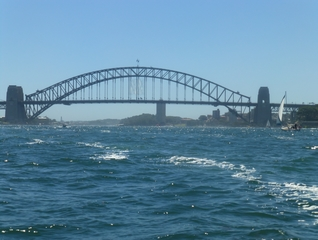 Harbour Bridge #3 - Sydney, NSW, Harbour Bridge, Australien, Down Under, Bogenbrücke, Brücke