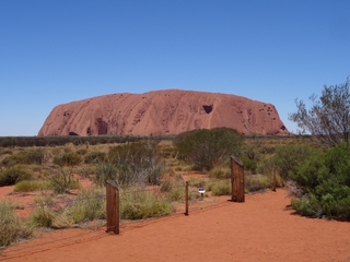 Uluru #1 - Uluru, Ayers Rock, Australien, Down Under, Aborigines, Aboriginal People, Heiliger Berg, Sehenswürdigkeiten, Outback