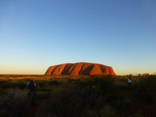 Uluru #4 - Uluru, Ayers Rock, Australien, Down Under, Aborigines, Aboriginal People, Heiliger Berg, Sehenswürdigkeiten, Outback